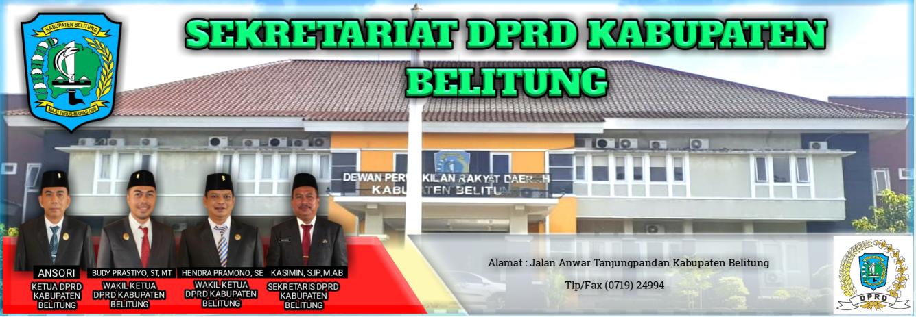 Sekretariat Dewan Perwakilan Rakyat Daerah Kabupaten Belitung